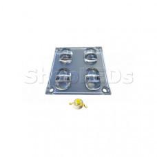 Блок линз STB 4 (130x60°, 4 LED)