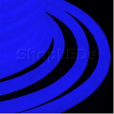 Гибкий Неон LED 360 - синий, бухта 50м