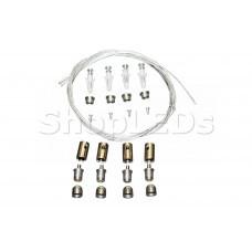 Комплект подвесов для профилей и шинопровода (1м/4шт)